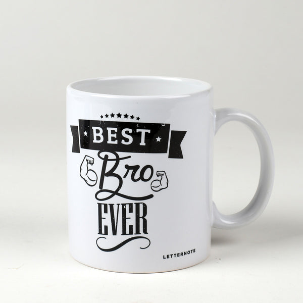 Best Bro Ever Mug - LetterNote - 2