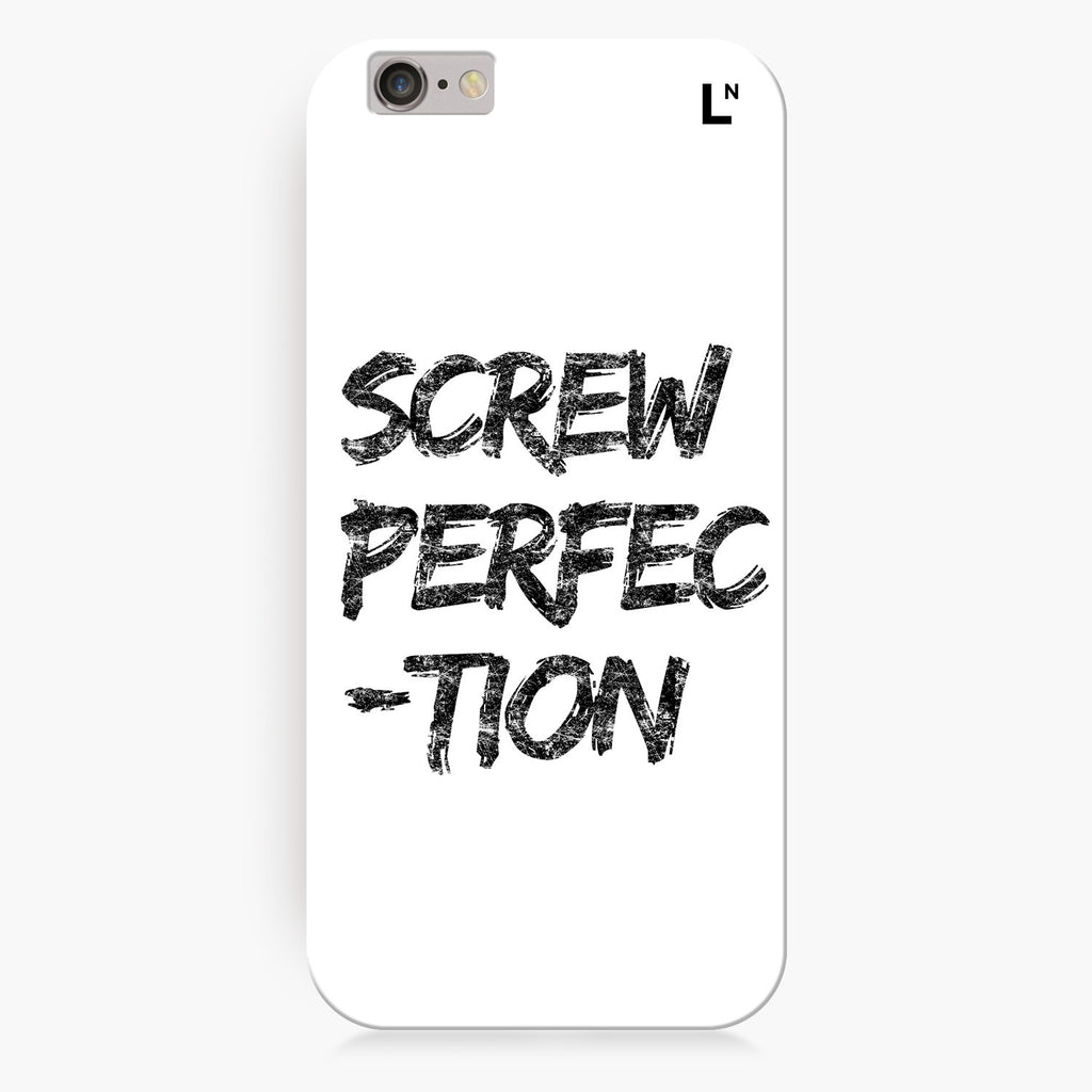 Screw perfection iPhone 6/6S/6 plus/6s plus Cover