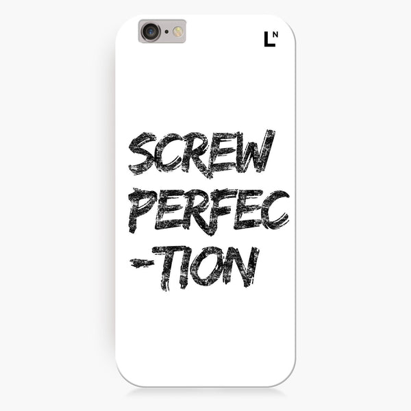 Screw perfection iPhone 7/7 plus Cover