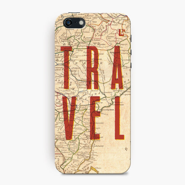 Travel Map iPhone 5/5s/5c/SE Cover