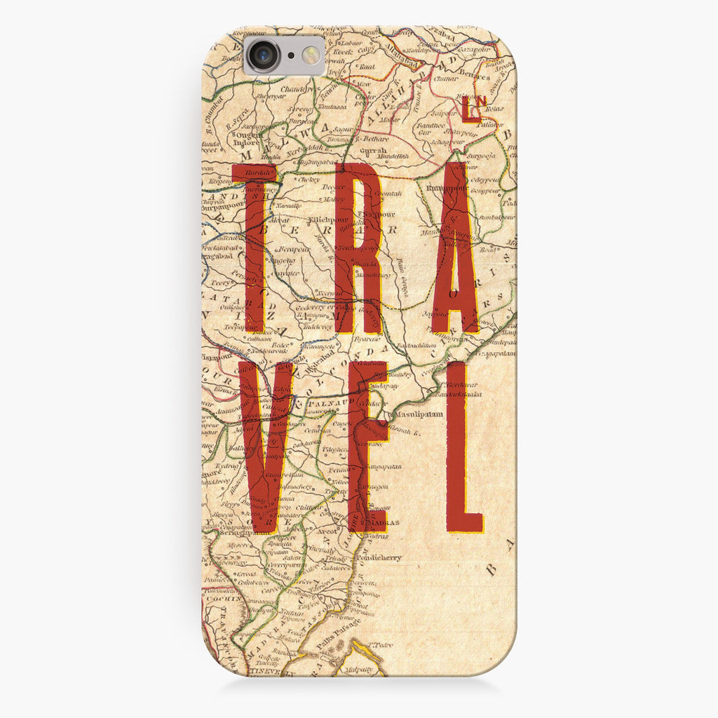 Travel Map iPhone 7/7 plus Cover