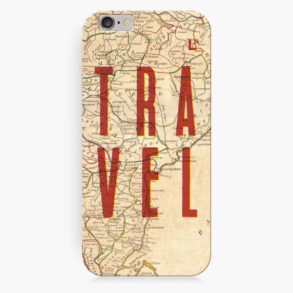 Travel Map iPhone 6/6S/6 plus/6s plus Cover