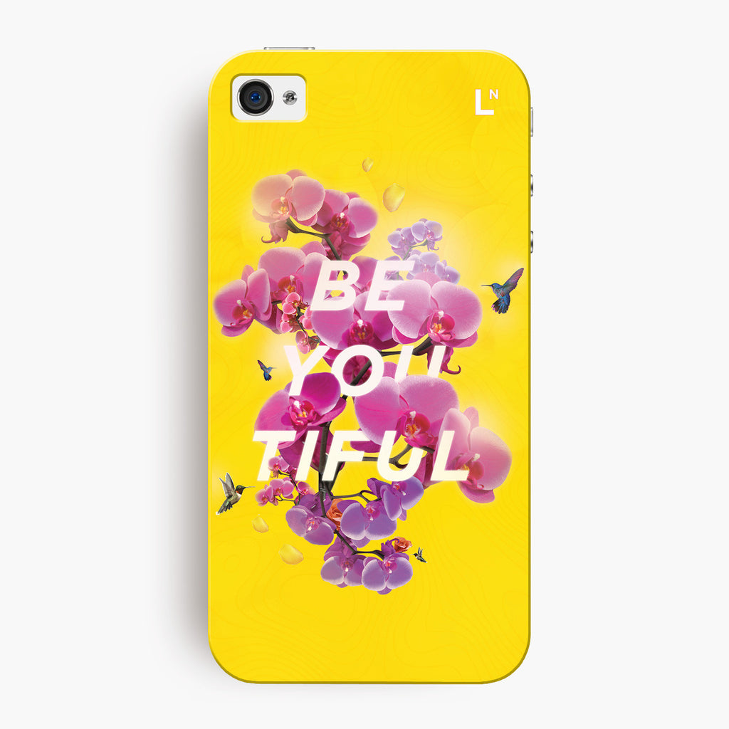 Be-you-tiful iPhone 4/4s Cover