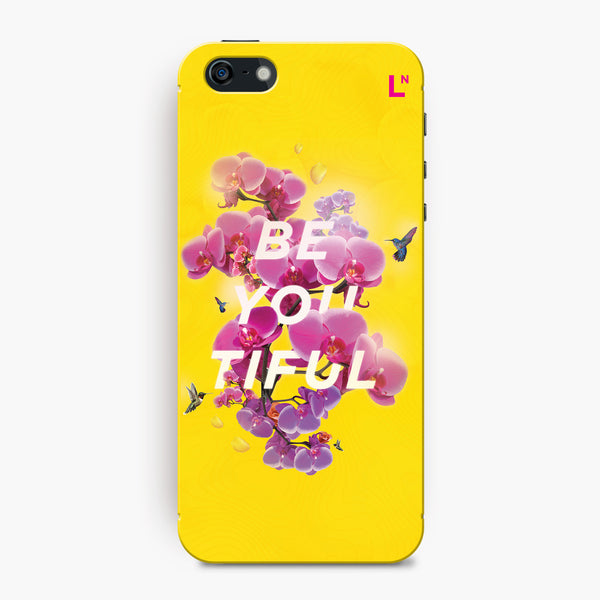 Be-you-tiful iPhone 5/5s/5c/SE Cover