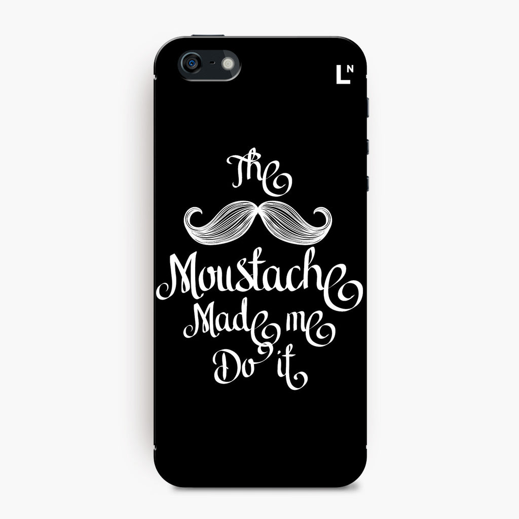 The Moustache iPhone 5/5s/5c/SE Cover