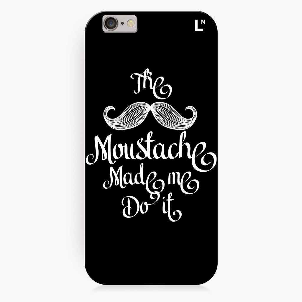 The Moustache iPhone 7/7 plus Cover