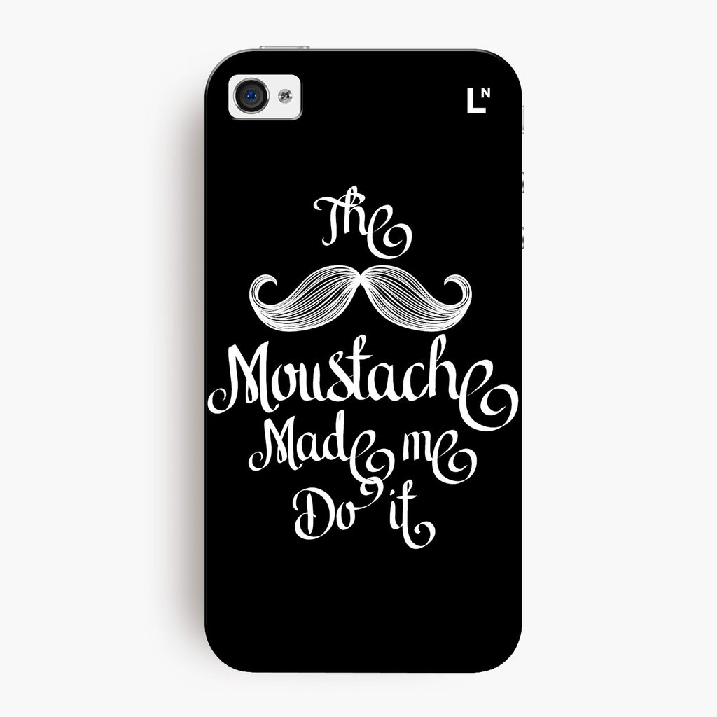 The Moustache iPhone 4/4s Cover