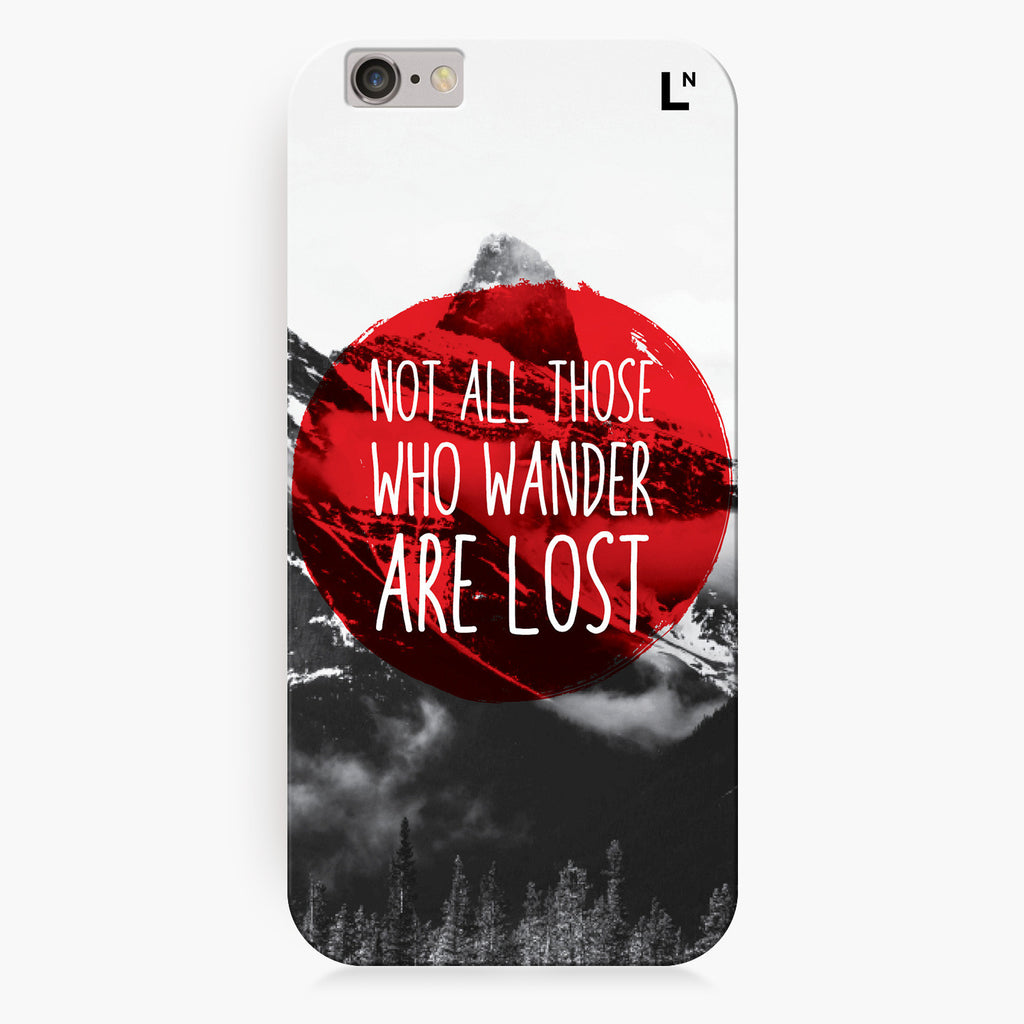 Wanderlust iPhone 7/7 plus Cover