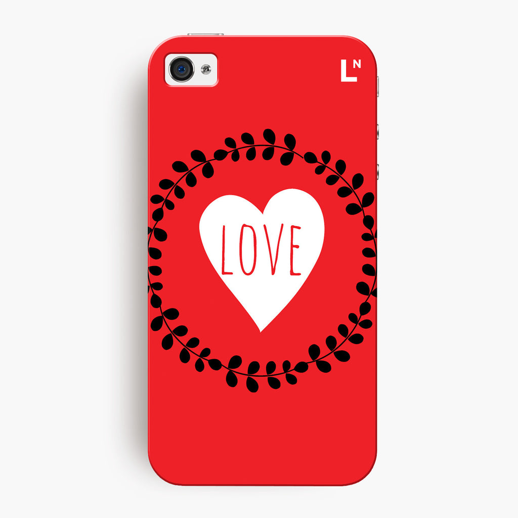 Love Flowers iPhone 4/4s Cover
