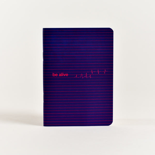 Be Alive Pocket Notebook (A6 Size)