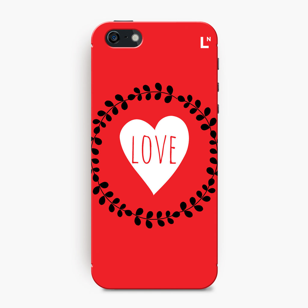 Love Flowers iPhone 5/5s/5c/SE Cover