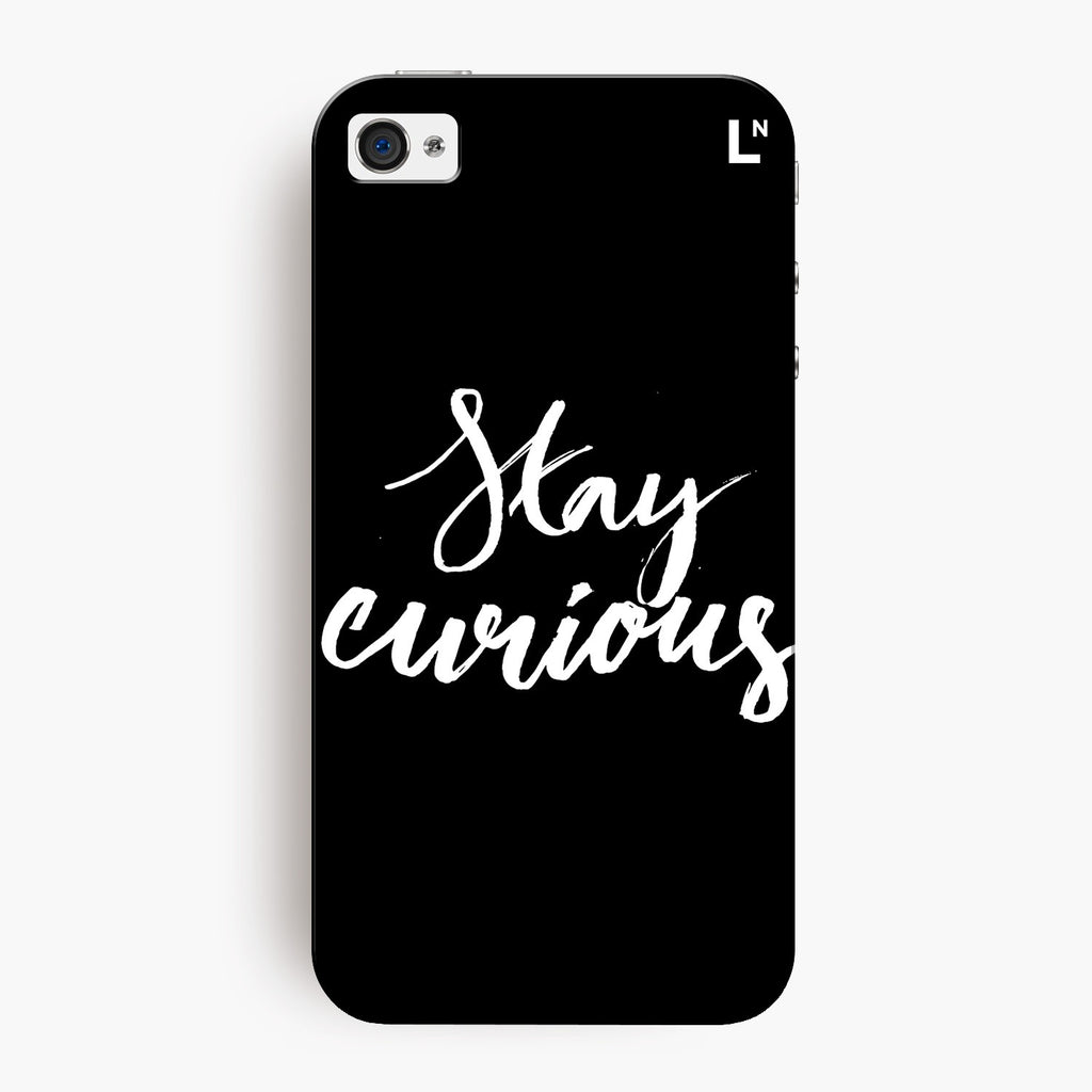 Stay Curious iPhone 4/4s Cover