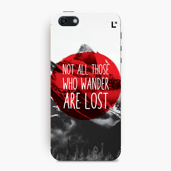 Wanderlust iPhone 5/5s/5c/SE Cover