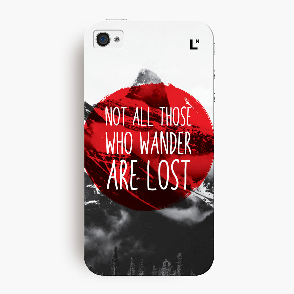 Wanderlust iPhone 4/4s Cover