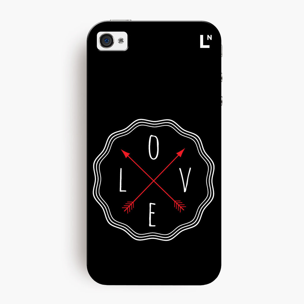 Love in All Directions iPhone 4/4s Cover