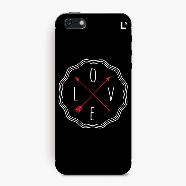 Love in All Directions iPhone 5/5s/5c/SE Cover