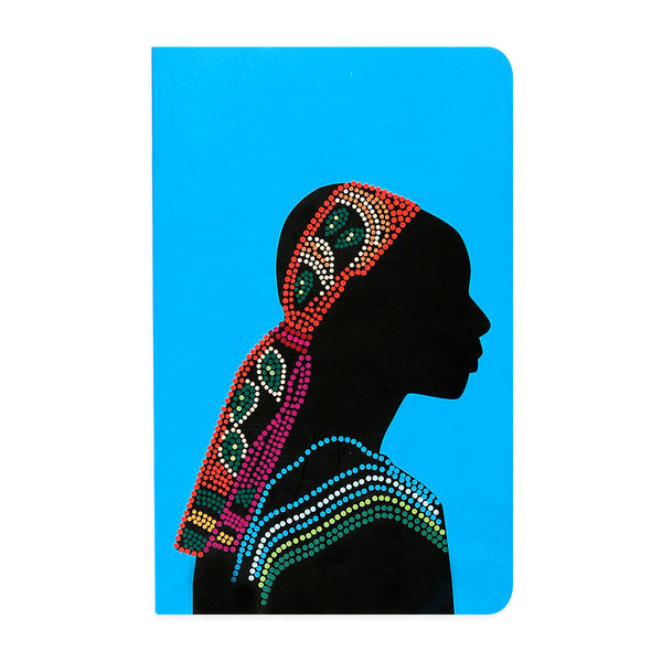 Africa Woman Vivid NoteBook