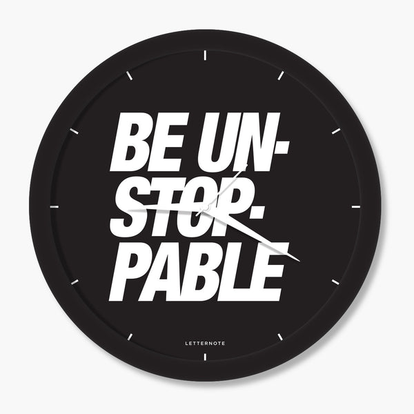 BE UNSTOPPABLE - Big Clock