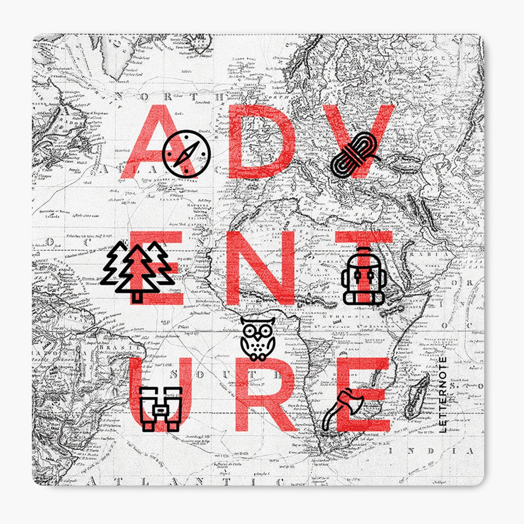 Adventure MDF Coaster (Set Of 2)