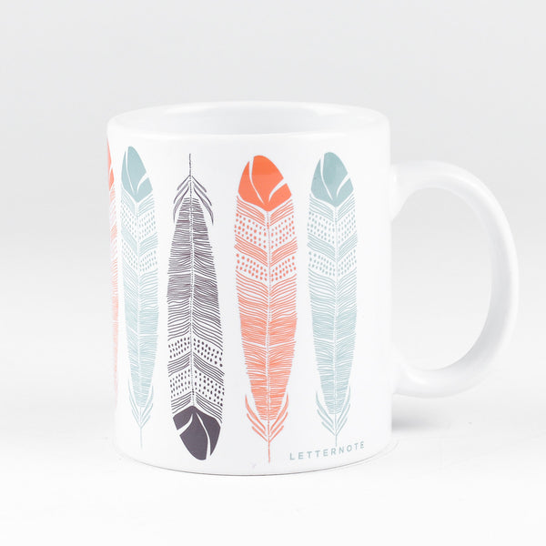 Feather Mug - LetterNote - 2