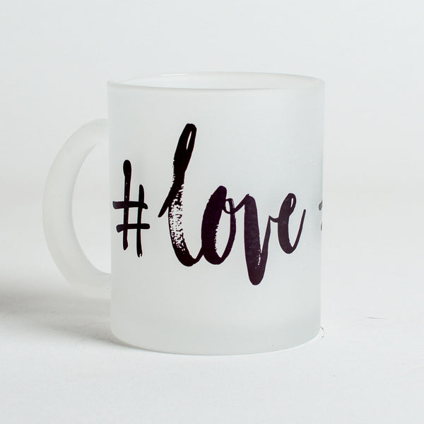 #love Frosted Mug