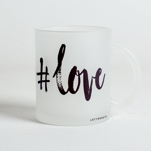 #love Frosted Mug - LetterNote - 2