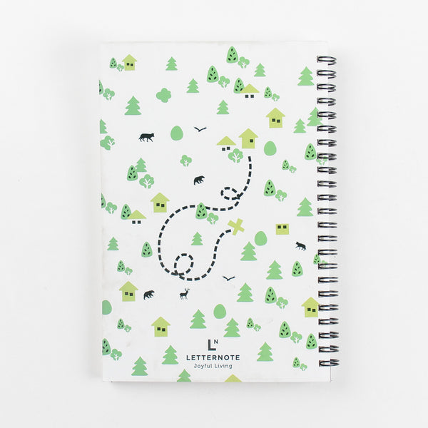 Get Out There Spiral Notebook - LetterNote - 2