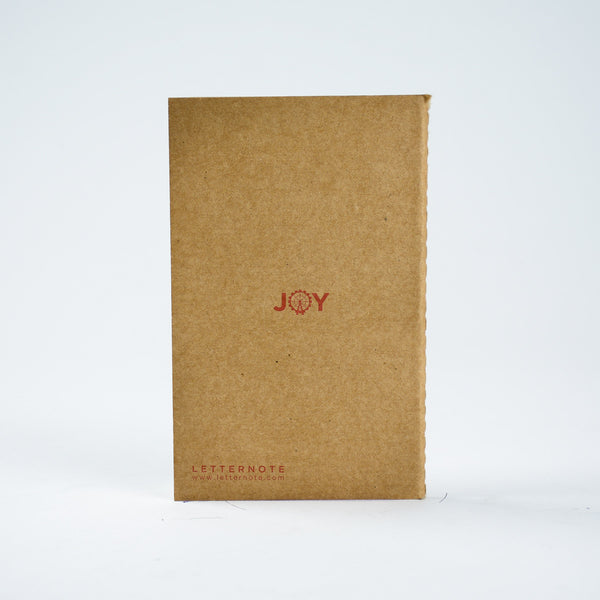 Joy - Kraft Pocket NoteBook - LetterNote - 2