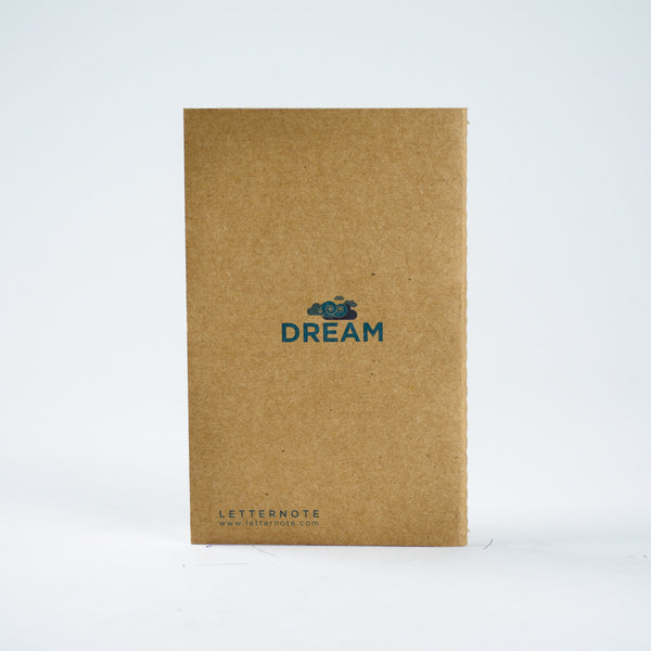 Dream - Kraft Pocket NoteBook - LetterNote - 2