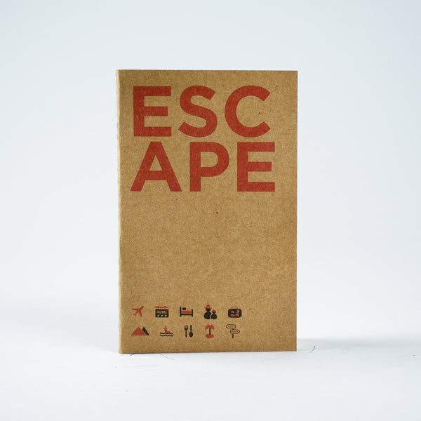 Escape - Kraft Pocket NoteBook