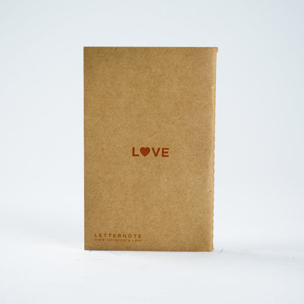 Love - Kraft Pocket NoteBook - LetterNote - 2