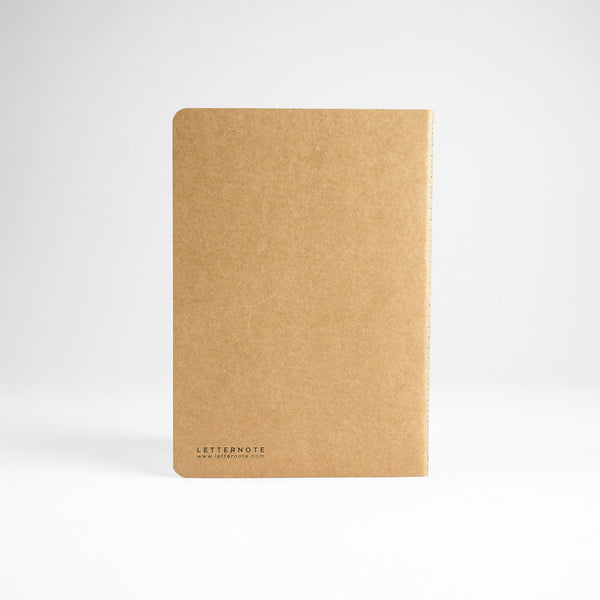 Pure Kraft NoteBook - LetterNote - 2
