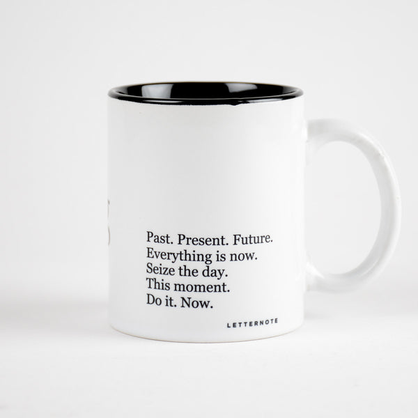 Carpe Diem Coffee Mug (Inside Color) - LetterNote - 2