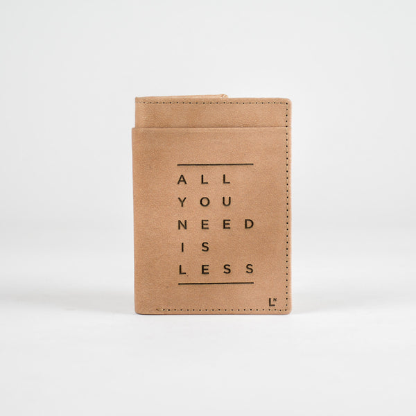 All You Need Is Less Mini Wallet