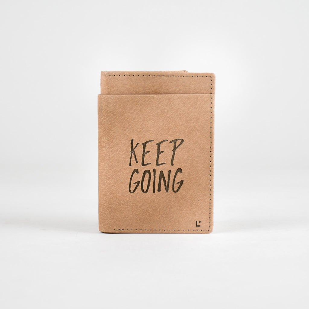 Keep Going Mini Wallet