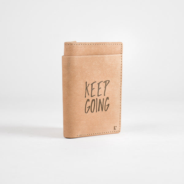 Keep Going Mini Wallet - LetterNote - 2