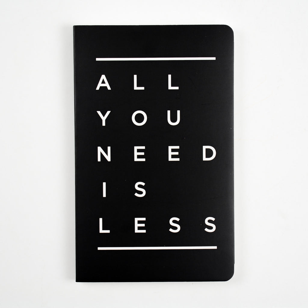 All You Need Is Less Vivid NoteBook