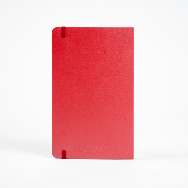 Classic Red Notebook - LetterNote - 2