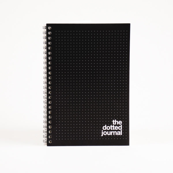 Black Dotted Journal