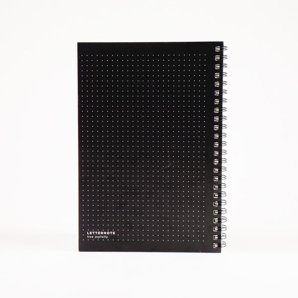 Black Dotted Journal - LetterNote - 2