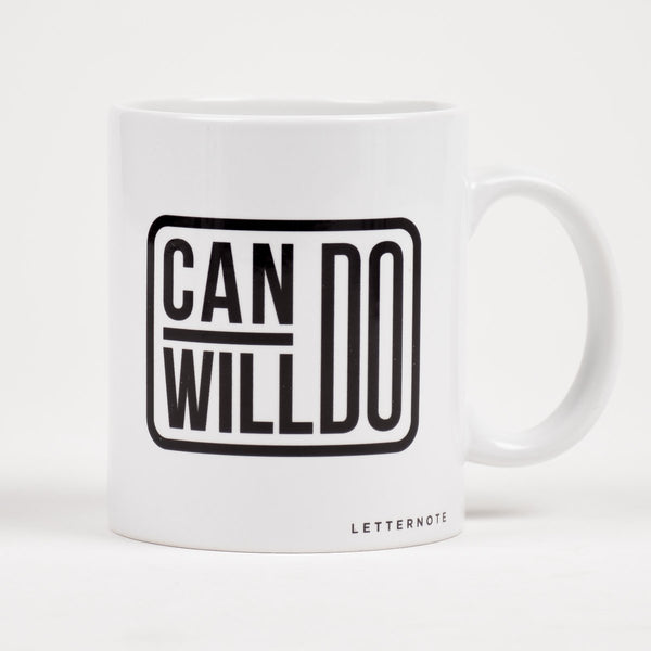 Can do Will do Mug