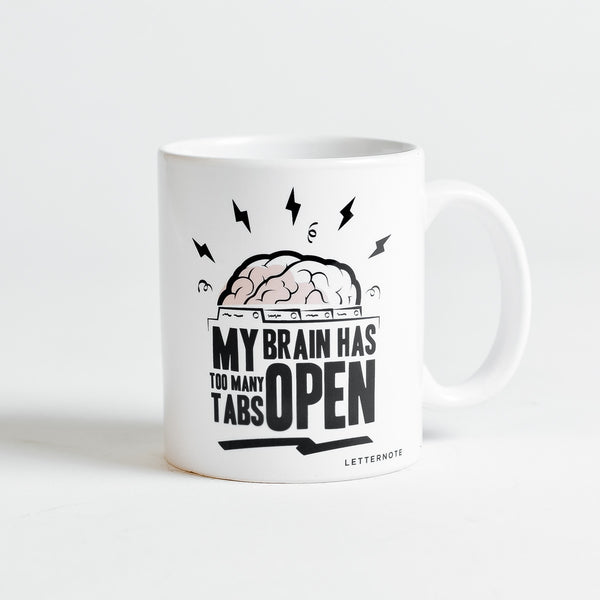 Too Many Tabs Mug - LetterNote - 2