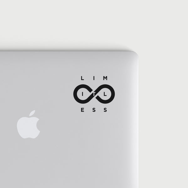 Limitless decal - Black