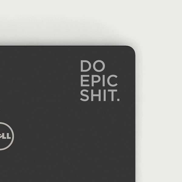 Do Epic Shit Decal - Silver