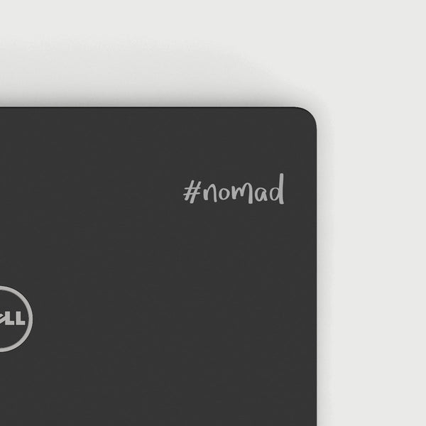 Nomad Decal - Silver