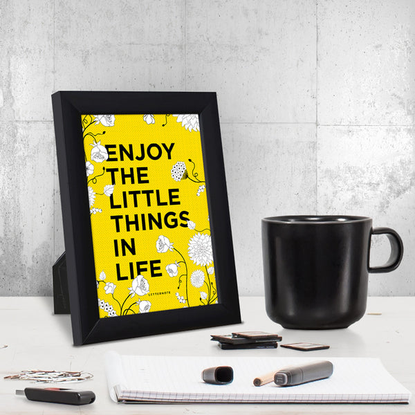 Enjoy Little Things Small Frame (5