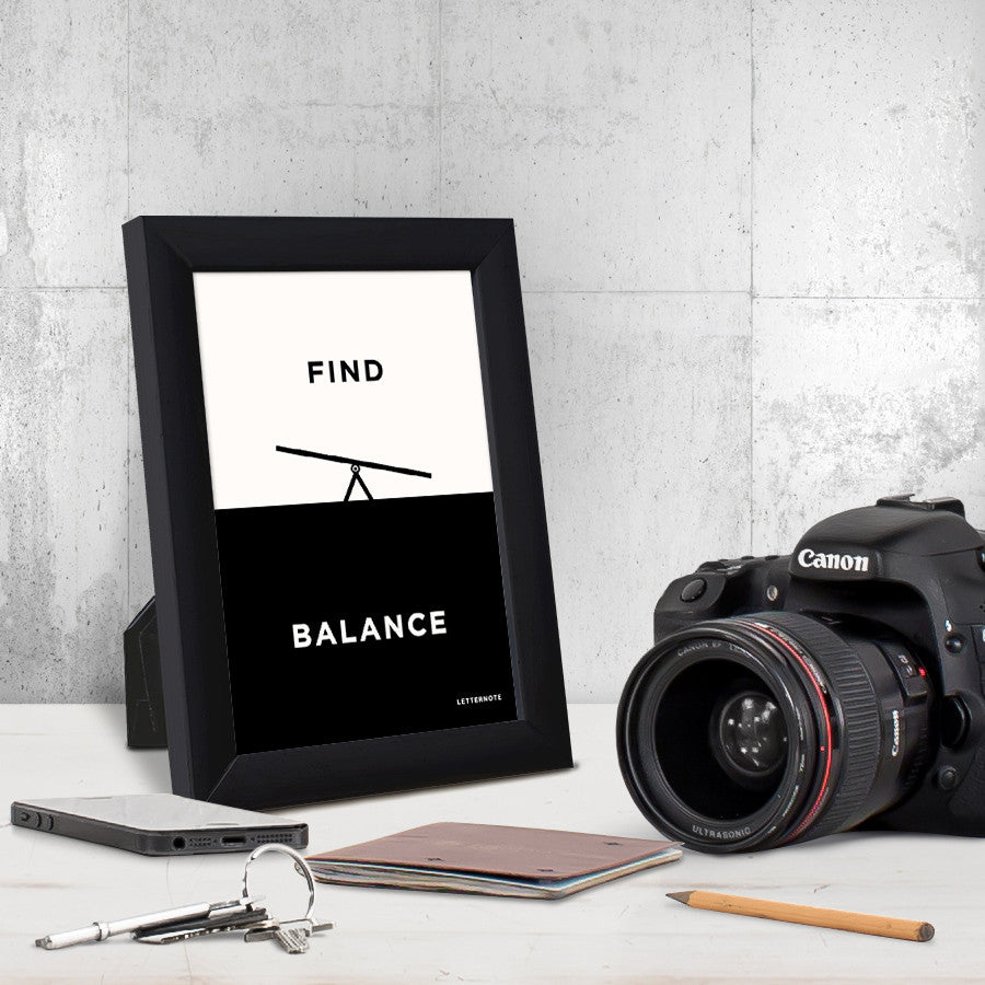 Find Balance Small Frame (5