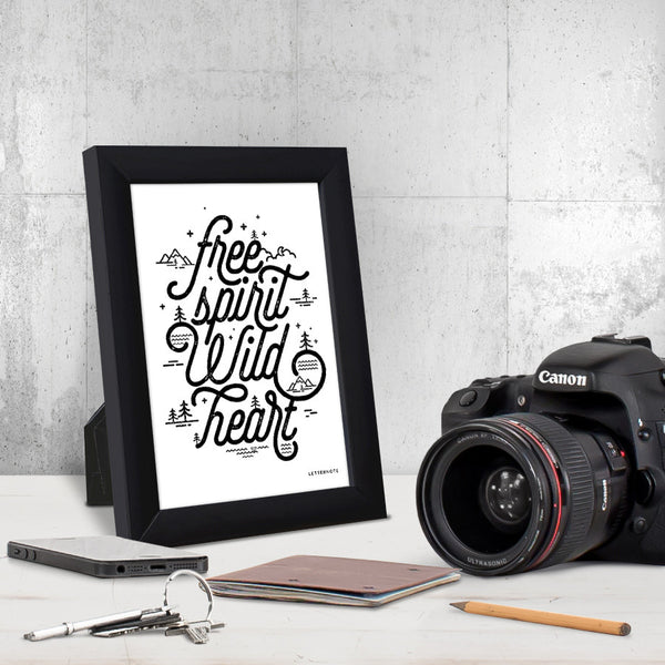 Free spirit Wild heart Small Frame (5