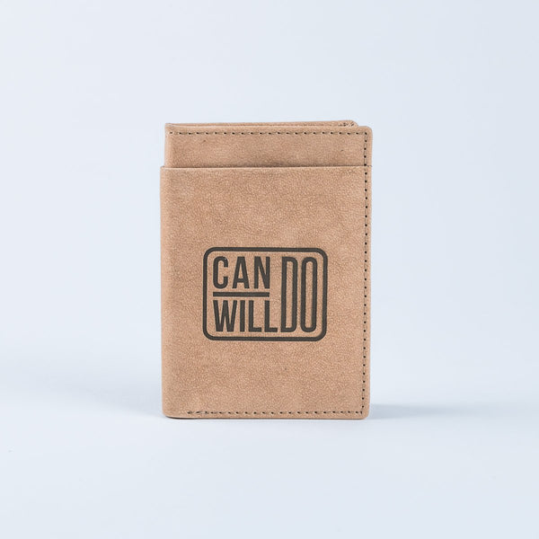 Can Do Will Do Mini Wallet