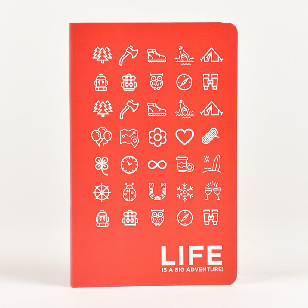 Life is a big adventure Vivid NoteBook